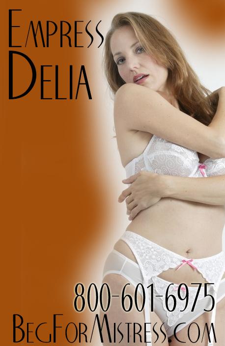 Masturbate for Ms. Delia