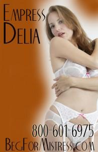 Masturbation Mistress Delia 800 601 6975