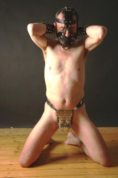 Chastity belt slave